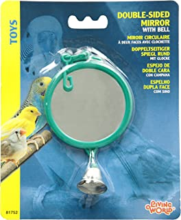 Living World Double-Sided Mirror with Bell