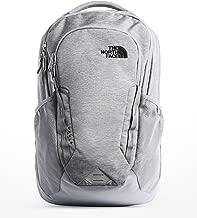 The North Face Vault Backpack, Mid Grey Dark Heather/TNF Black