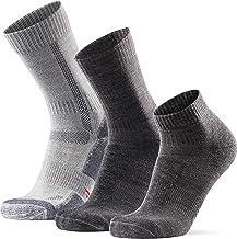 Merino Wol Wandelsokken Set voor Dames & Heren, 3 Pakken, Klassiek, Licht & Laag Uitgesneden, Hiking Socks