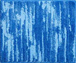 Grund Bath Rug, Ultra Soft and Absorbent, Anti Slip, Fancy, Small mat 50x60 cm, Blue