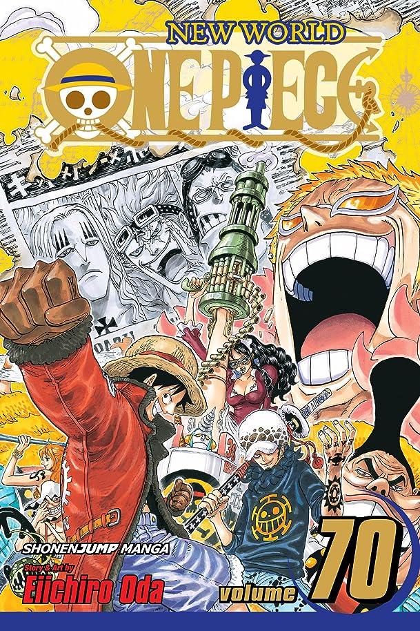 風邪をひく古風なくすぐったいOne Piece, Vol. 70: Enter Doflamingo (One Piece Graphic Novel) (English Edition)