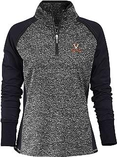 NCAA Finalist Women's Quarter-Zip Pullover Virginia Cavaliers Large Admiral