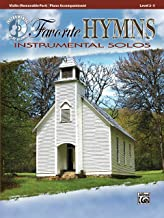 Favorite Hymns Instrumental Solos for Strings: Violin, Book & CD (Instrumental Solos Series)