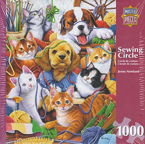 Sewing Circle By Jenny Newland 1000 Piece Puzzle