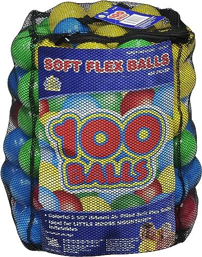 Seleccione de las marcas más nuevas como Moose Mountain 100 balls in a mesh bag by by by Moose Mountain Marketing Inc  Disfruta de un 50% de descuento.