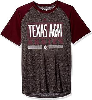 adidas Texas A&M Aggies NCAA Linear Stack Men's Climalite S/S T-Shirt