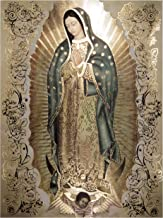 Our Lady of Guadalupe Body Portrait Gold Foil Engraved (20