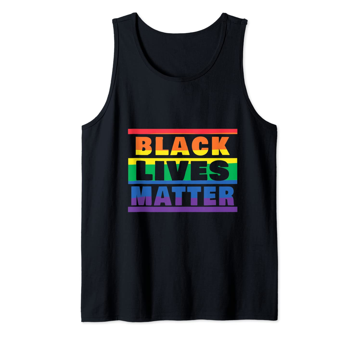 LGBTQ Pride /& Black Lives Matter We March To End Hate 2020 Camiseta sin Mangas