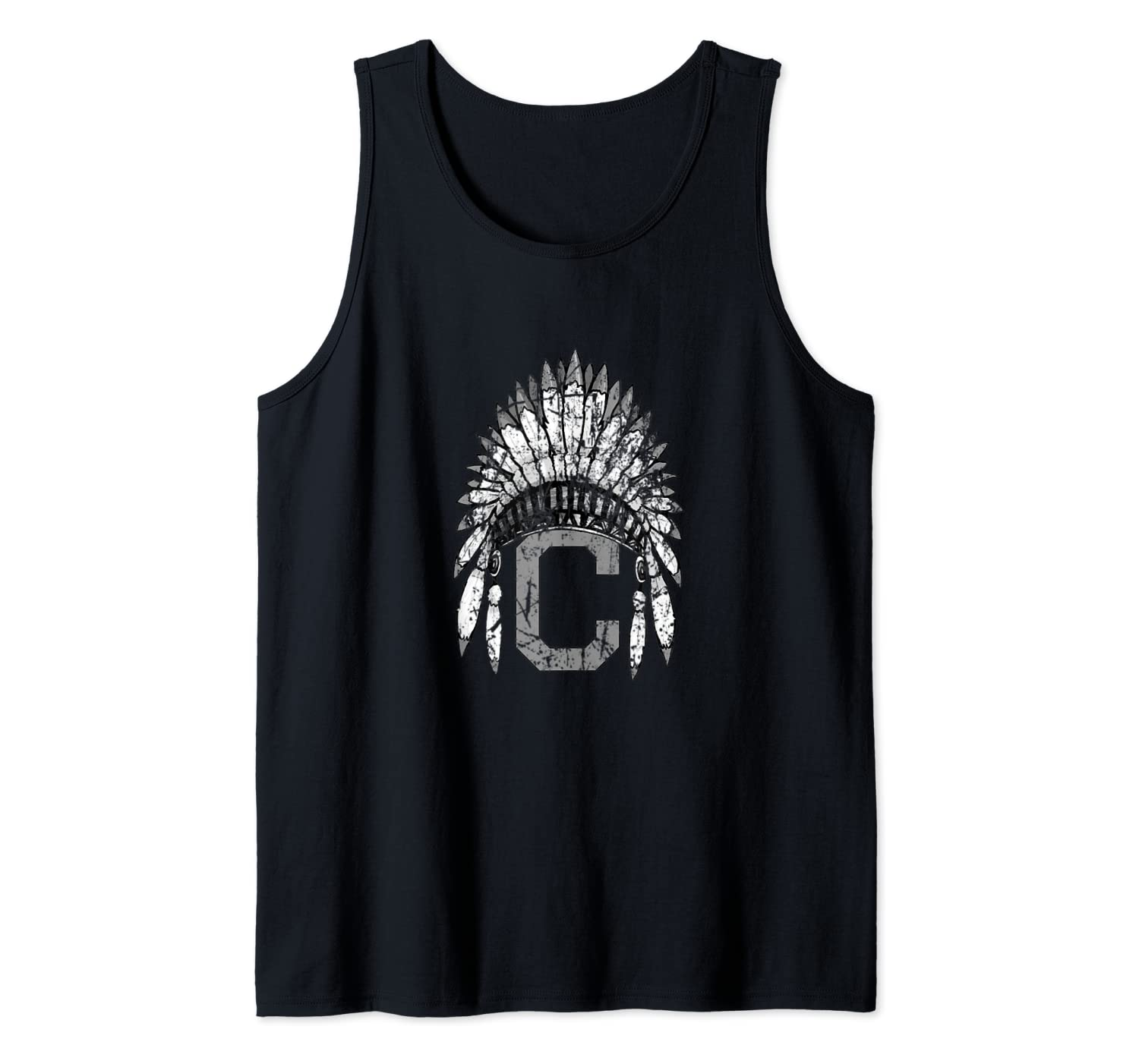 Cleveland Hometown Indian Tribe vintage for Baseball Fans Tank Top