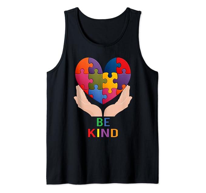 Be Kind – Autism Awareness Tank Top