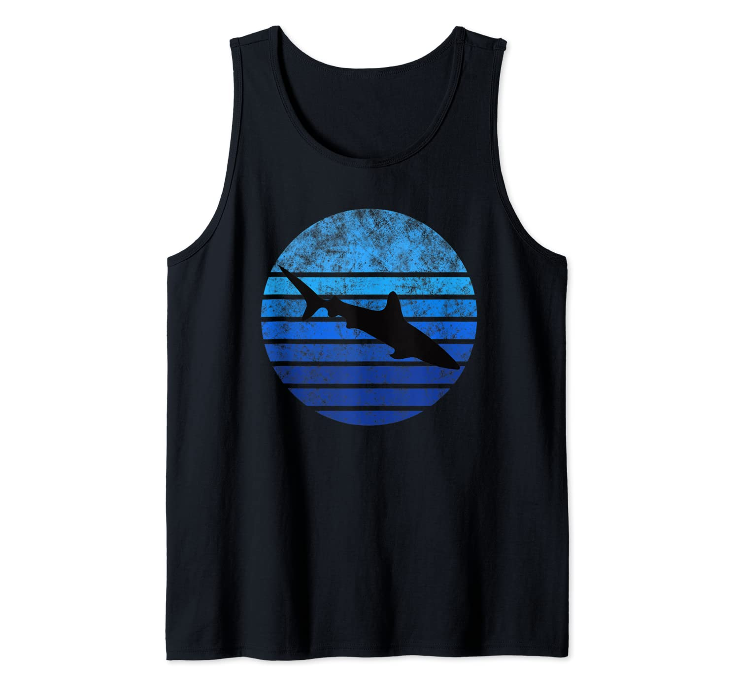 Diving with Water and Shark. Perfect Dive Apnea Great Diver Tank Top