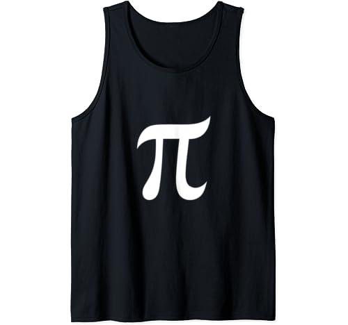 Pi Symbol Funny Pi Day Shirt For Men Women Tank Top