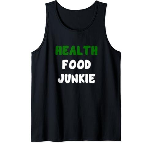Health Food Vegan Tank Top