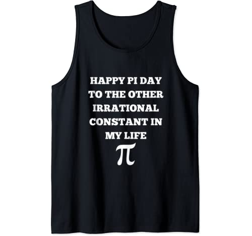 Hmm Pi Funny Pi Day Shirt For Men Women Math Pun Tank Top