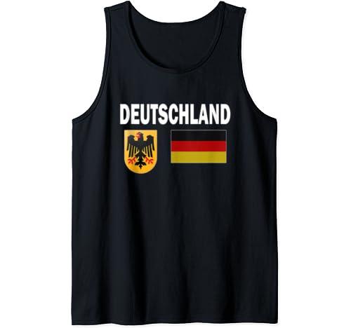 Germany T Shirt German Flag Deutschland Love Gift Tank Top