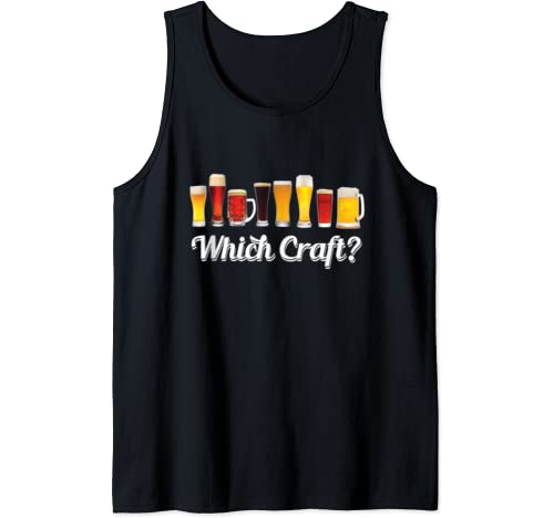 Funny Halloween Drinking Gift Craft Beer Brewers & Drinkers  Tank Top