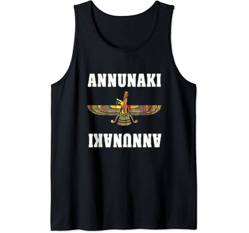 Annunaki Hidden Planet X Alien Earth Council Symbol Gift Tank Top