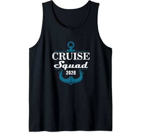 Cruise Squad 2020 Family Reunion Matching Vacation Tank Top