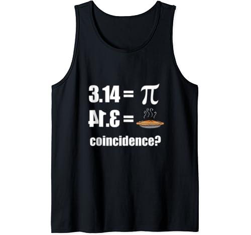 3.14 4.13 Pie Pi Funny Pi Day Shirt For Men Women Tank Top