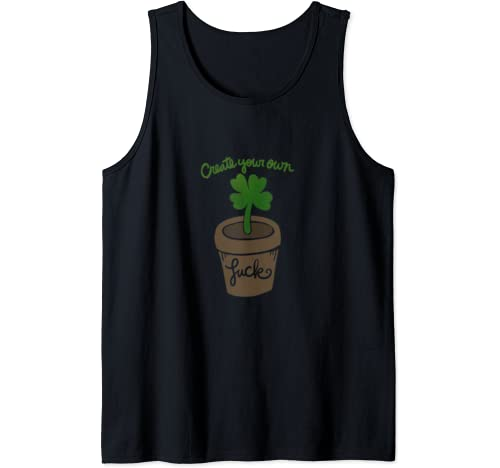 Create Your Own Luck Cute Lucky Tank Top