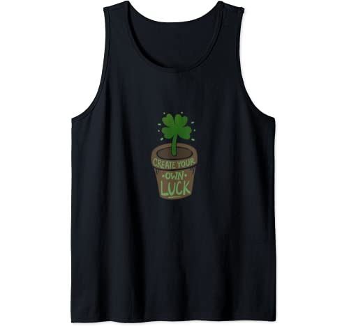 Create Your Own Luck Fun St. Patrick's Day Tank Top