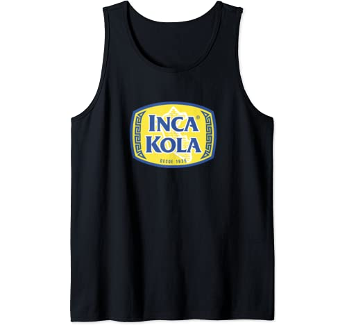 Inca Kola Near Me Peru Golden Kola Bubblegum Cream Soda Tank Top