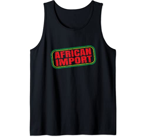Black History Month T Shirt | African Import | 1619 Tank Top
