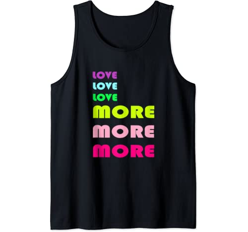 Love More Valentine's Day Gift Tank Top