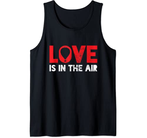 Love Couples Valentines Vintage Gift Tank Top