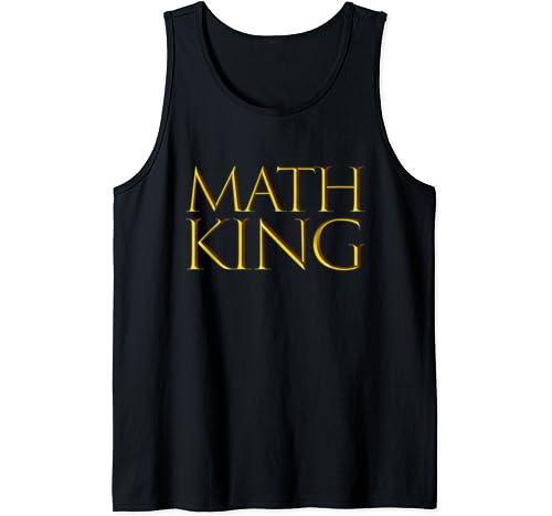 Math King Tank Top
