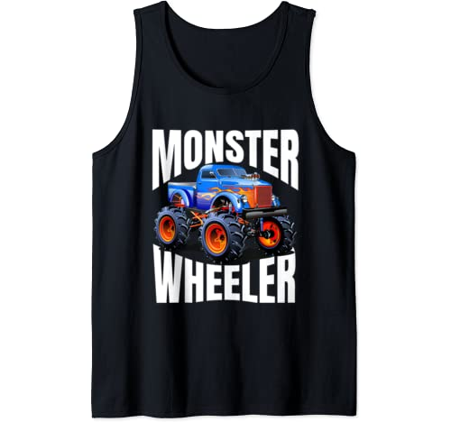"Mens The Best ""Monster Trucks Rule"" T Shirts On The Planet. Tank Top"