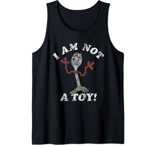 Disney Pixar Toy Story Forky I Am Not A Toy Tank Top