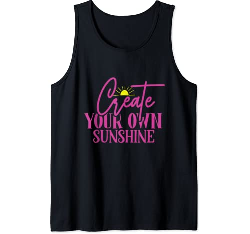 Create Your Own Sunshine Tank Top