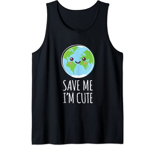 Earth Day Save Our Planet Recycle Climate Change Tank Top