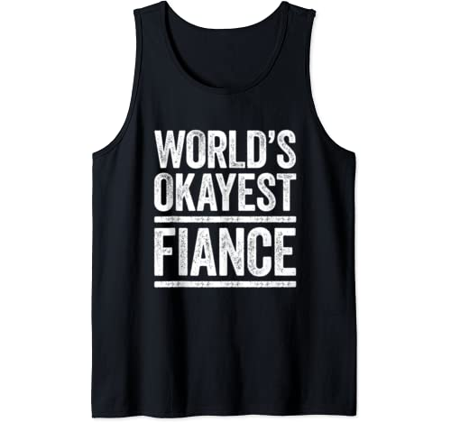 Mens World's Fiance Uncle T Shirt Best Fiance Ever Gift Tank Top