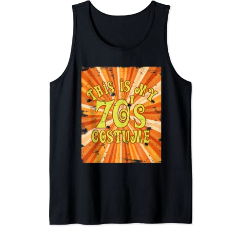 This Is My 70s Costume Vintage Retro T Shirt 1970s Shirt Tank Top