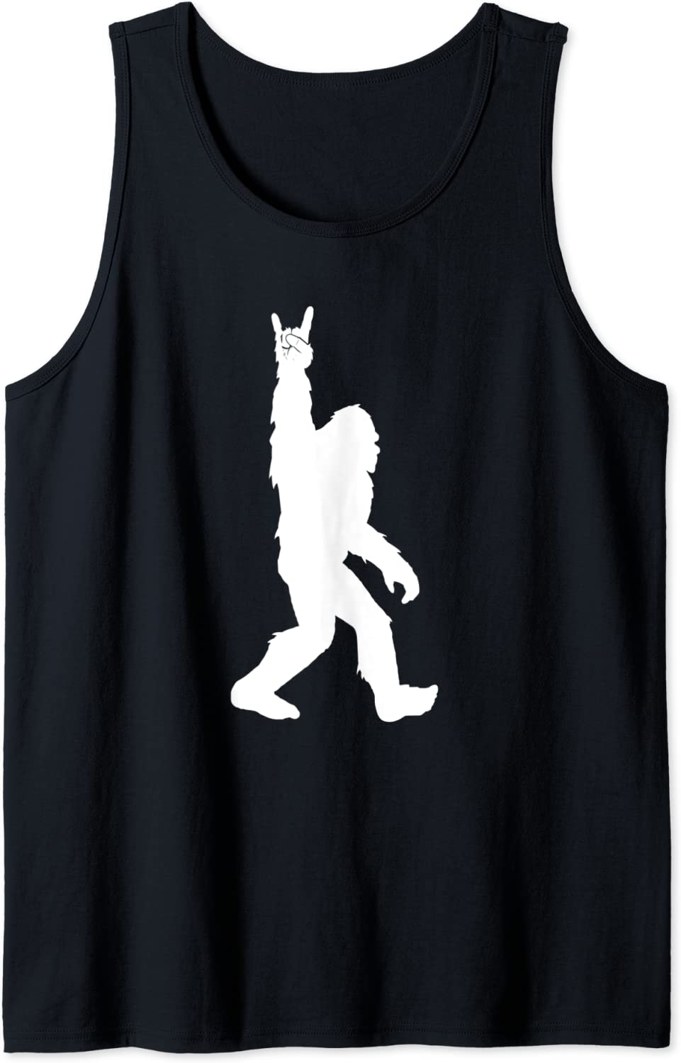 Funny Bigfoot Rock and Roll Tank Regular Soldering store Sasquatch for Believers Tshirt