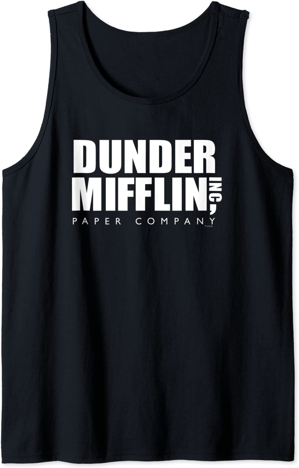The Office Direct stock discount Dunder Discount mail order Tank Top Mifflin