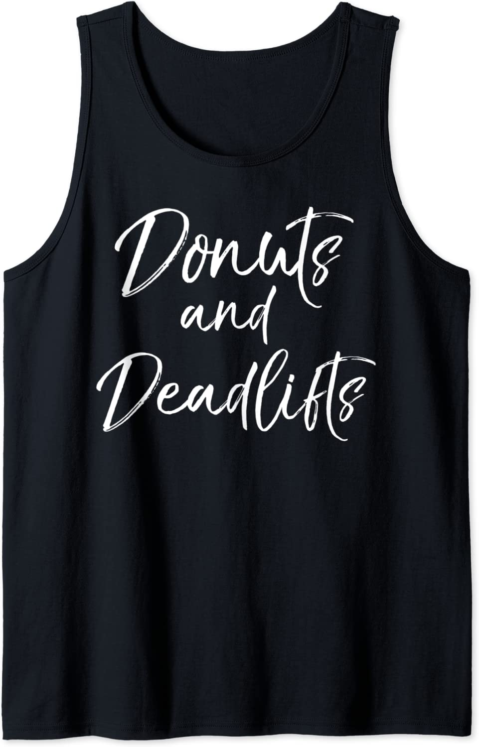 Workout Tanks for Women Deadlifts for Donuts Tank Ladies Workout Tank Performance Tank Pound Tank Top Workout Tank Gym Tank Top