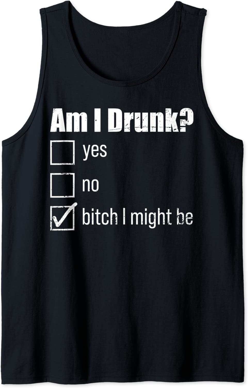 Many Outlet ☆ Free Shipping popular brands Drinking Drunk Shirt Bachelorette Tank Beer Top Am I