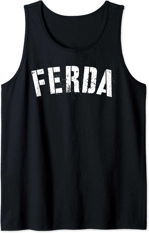Boys free FERDA Bold Milwaukee Mall Letters Funny Tank Top Shirt