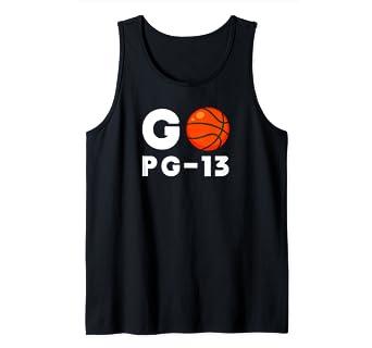 Amazon.com: Go PG-13 - Camiseta de baloncesto con diseño de ...
