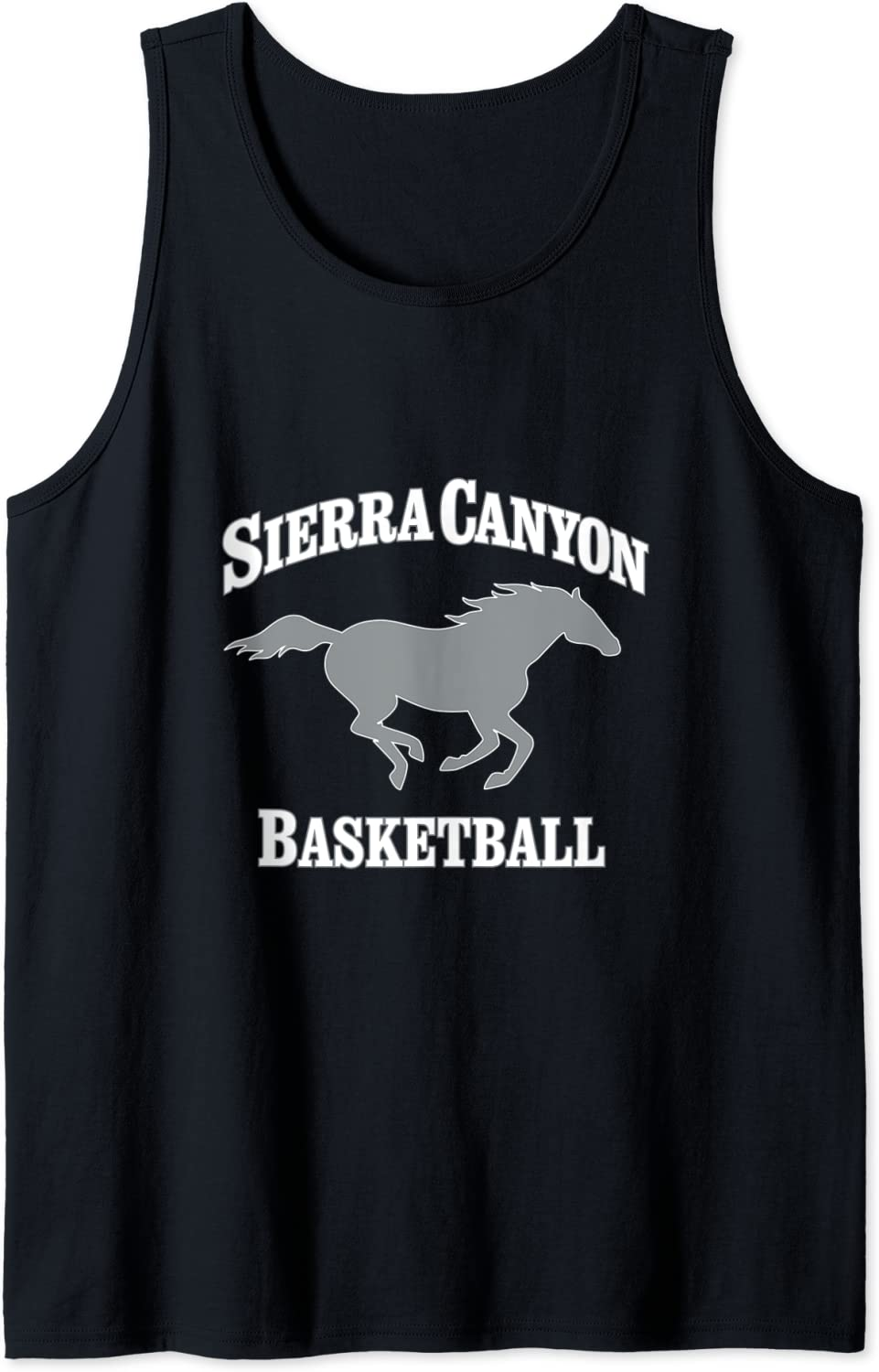 Sierra Canyon Basketball Max 63% OFF with Ranking TOP7 Tank Top Horse