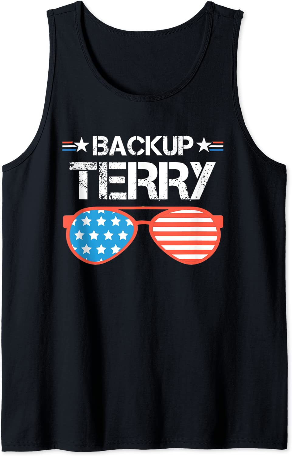 Back Up Terry American Flag USA Tank July Of 4th Gift 2021 Sunglasses Alternative dealer