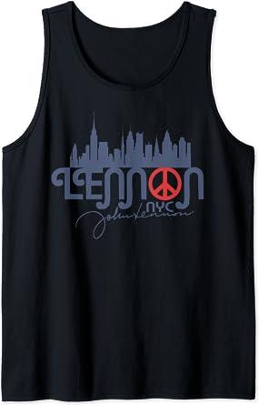 John Lennon - Peace, NYC Débardeur