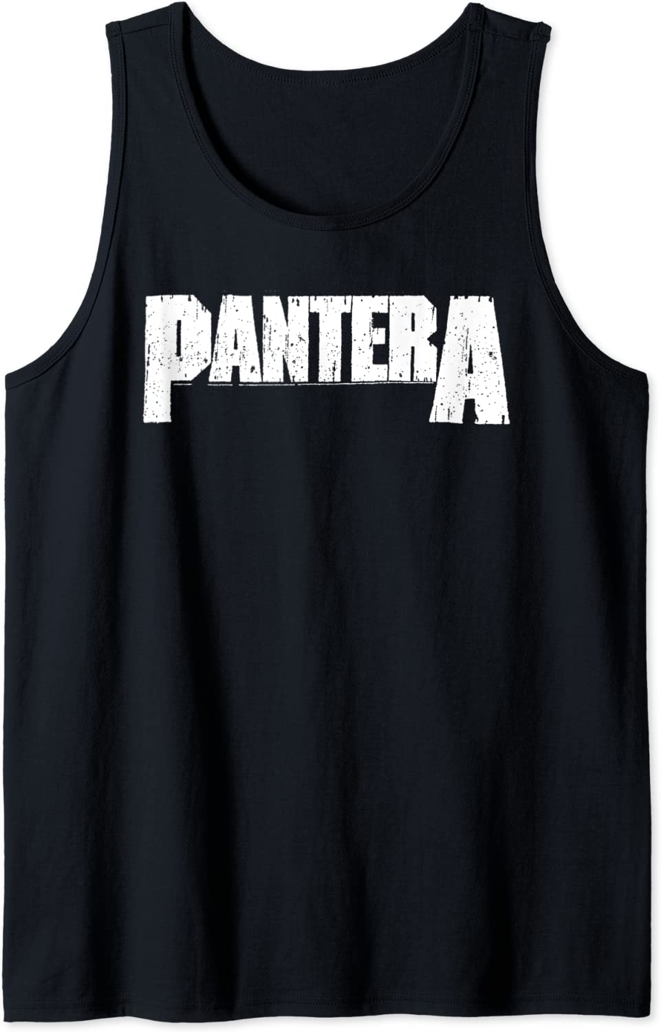 Pantera Official White Top Tank Logo A surprise price is Complete Free Shipping realized
