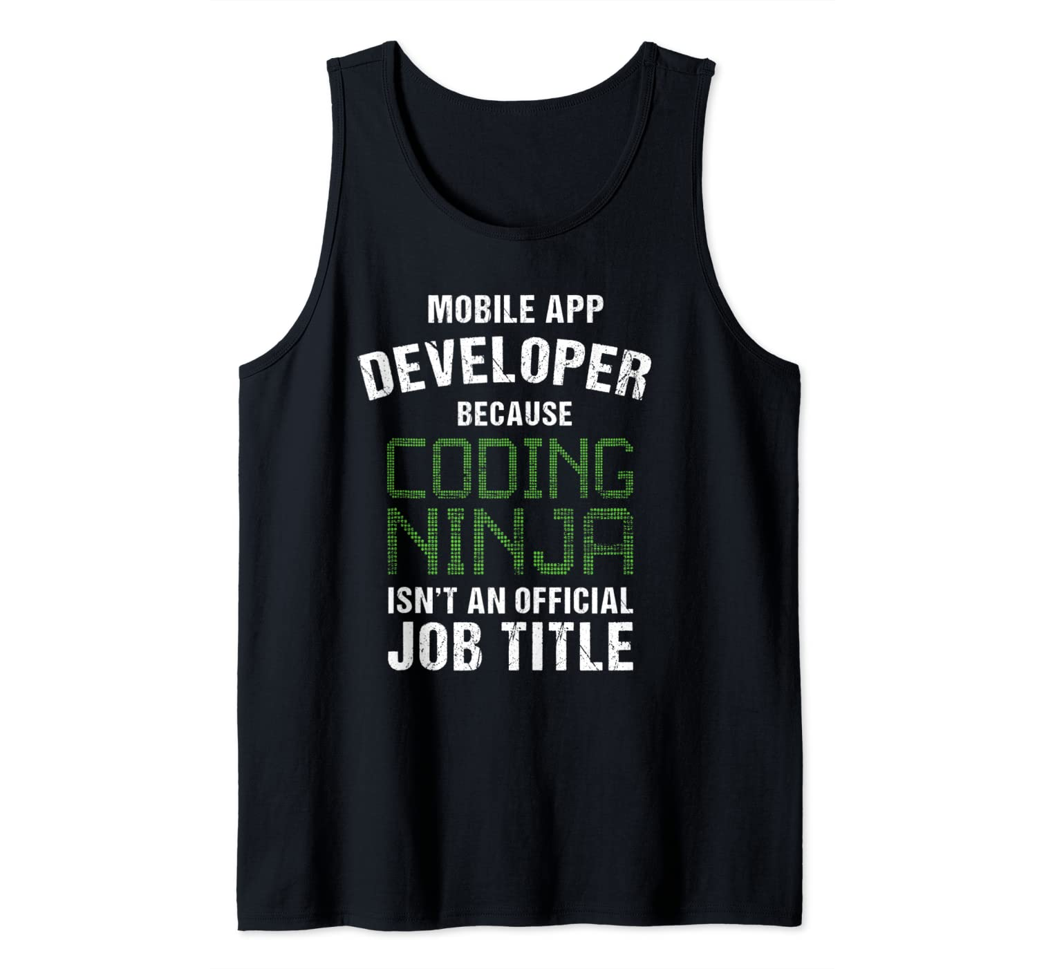 Amazon.com: Mobile App Developer Shirt Coding Ninja ...