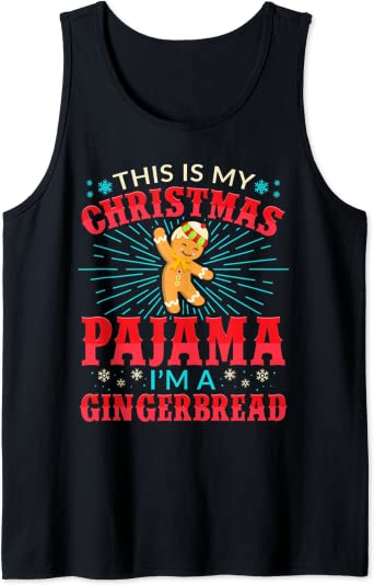 Pijama Divertido De Navidad Para Amantes De Las Galletas De Jengibre Clothing