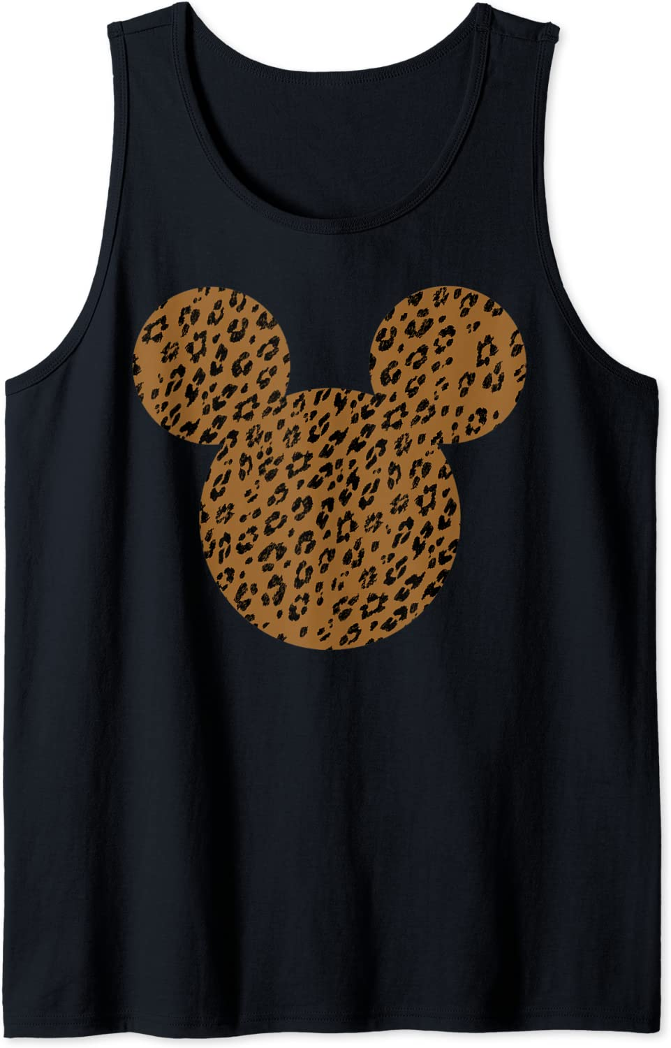 Disney Max 43% OFF Mickey And Friends Clearance SALE Limited time Mouse Cheetah Top Tank Print