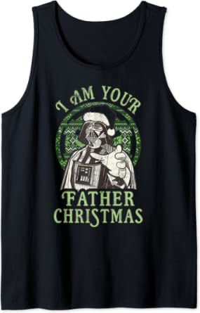 Star Wars Darth Vader I Am Your Father Christmas Débardeur